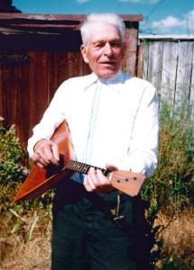 Николай Маркович Лебедев, кологривский плясун и балалайщик