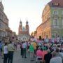 Фестивальный концерт на главной площади города Гнезно