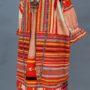 Женская одежда. Рязанская губ. Конец XIX в. Состоит из рубахи, поневы, передника, шушуна, гайтана, бисерного украшения
