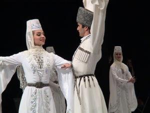 """Ансамбль танца """"Горец"""" Горской сельскохозяйственной академии Северной Осетии в 2016 году побывал на гастролях в Швейцарии и Испании"""