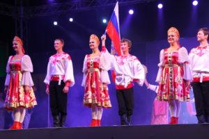 Ансамбль «Девчата» г. Орехово-Зуево Московской области в 2016 году побывал на гастролях в Италии