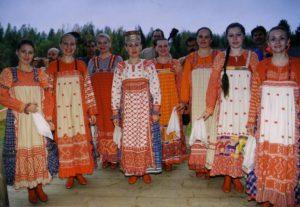 Государственный ансамбль песни и танца «Русский Север» Вологодской областной филармонии в 2016 году побывал на гастролях в Греции