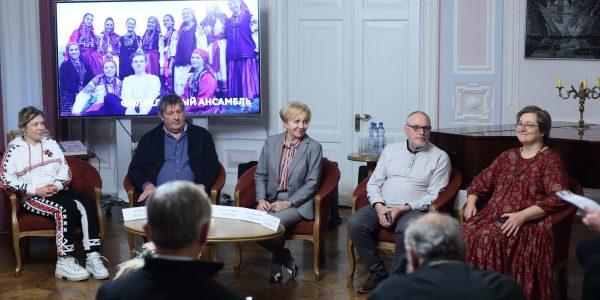 Пресс-конференция XIII Международного общественно-культурного форума «Живая традиция»
